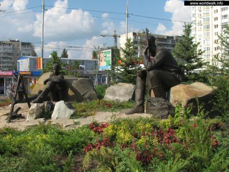 Фото: Мемориал участникам Великой Отечественной войны 1941–1945 гг.