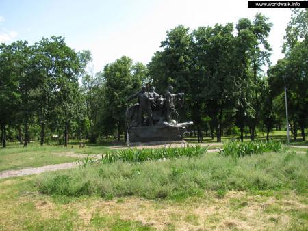 Фото: Парк имени экипажа бронепоезда «Таращанец»
