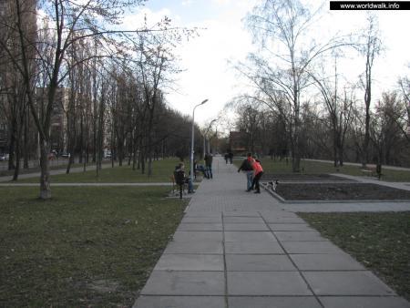 Фото: Парк на Русановской набережной