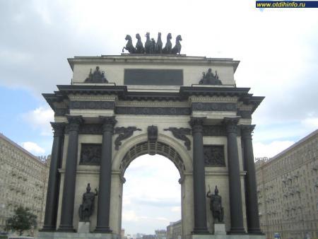 Фото: Триумфальные ворота (Москва)