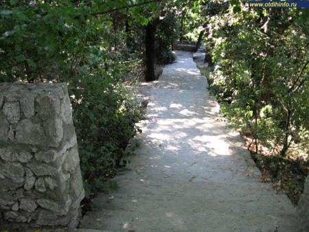 Фото: Алупкинский парк, Воронцовский парк
