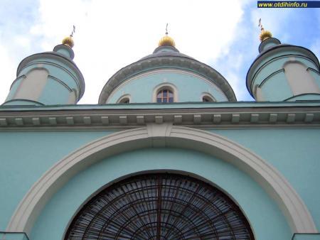 Фото: Церковь Сергия Радонежского в Рогожской слободе
