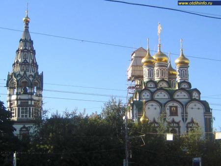 Фото: Церковь Николая Чудотворца в Хамовниках