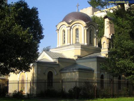 Фото: Церковь Димитрия Прилуцкого на Девичьем поле