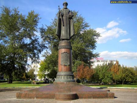 Фото: Памятник святому благоверному князю Даниилу Московскому на Даниловской площади