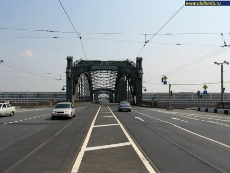 Фото: Большеохтинский мост, Санкт-Петербург