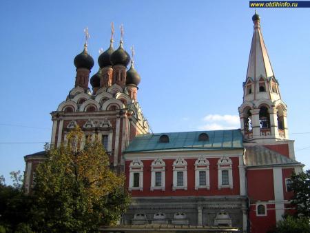 Фото: Церковь Николая Чудотворца на Болвановке, Москва