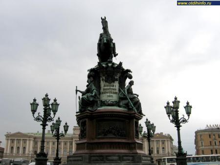 Фото: Памятник Николаю I, Санкт-Петербург