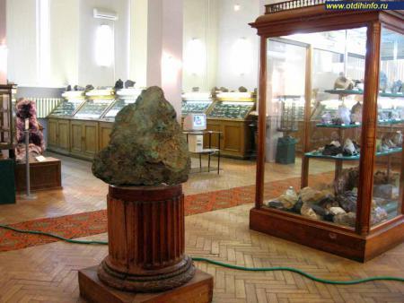 Фото: Государственный геологический музей им. В. И. Вернадского