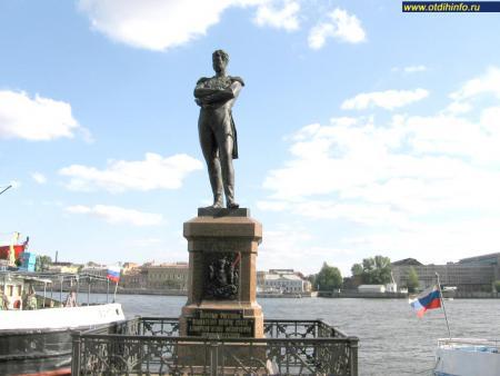Фото: Памятник И.Ф. Крузенштерну, Санкт-Петербург