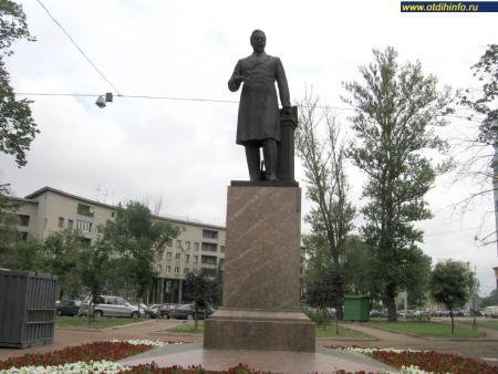 Фото: Памятник А.С. Попову на Петроградской стороне, Санкт-Петербург