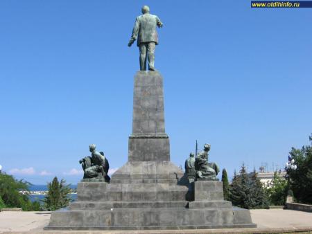 Фото: Памятник В.И. Ленину