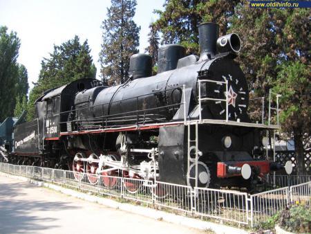 Фото: Памятник-паровоз бронепоезду «Железняков»