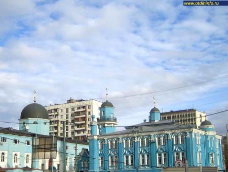 Фото: Московская соборная мечеть