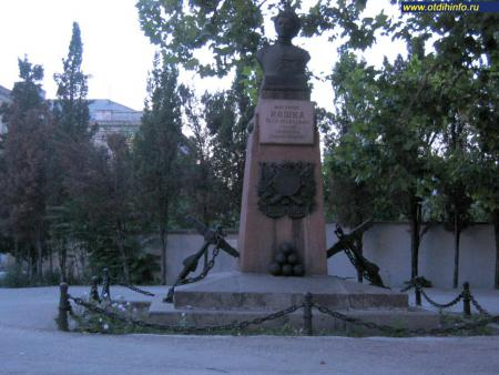 Фото: Памятник П.М. Кошке, памятник матросу Кошке