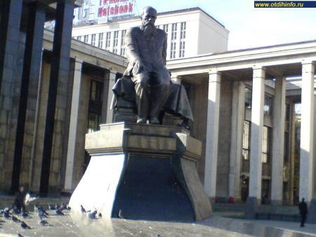Фото: Памятник Ф.М. Достоевскому