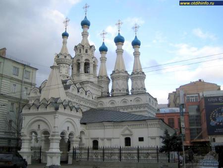 Фото: Церковь рождества пресвятой Богородицы в Путинках