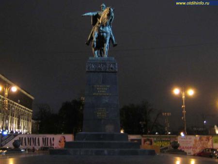 Фото: Памятник Юрию Долгорукому