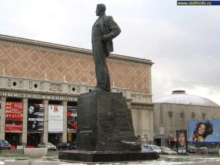 Фото: Памятник В.В. Маяковскому