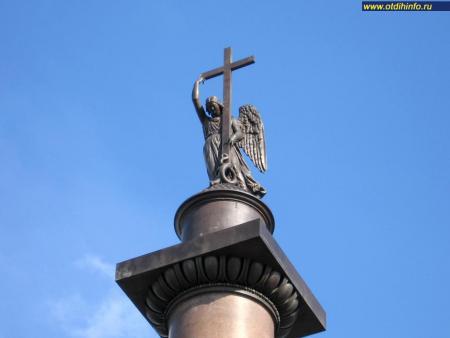 Фото: Александрийский столп, Александровская колонна
