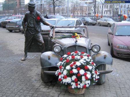 Фото: Памятник Ю.В. Никулину