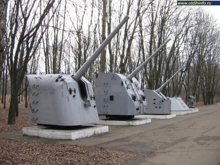 Фото: Мемориал героической обороны Одессы 411-й береговой батареи