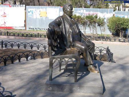 Фото: Памятник Л.О. Утесову