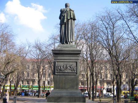 Фото: Памятник М.С. Воронцову