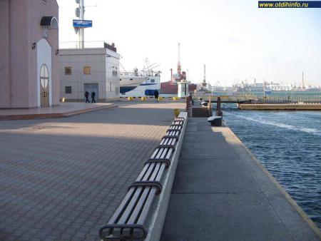 Фото: Морской вокзал Одессы