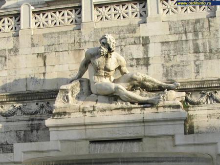 Фото: Алтарь Отечества, монумент Виктору Эммануилу II