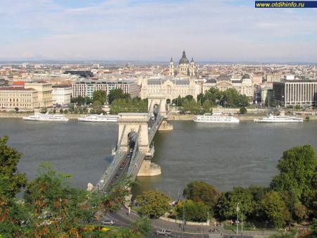 Фото: Цепной мост имени Сечени