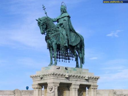 Фото: Памятник Иштвану I