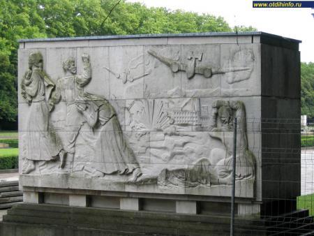 Фото: Берлинский Трептов-парк, монумент советскому воину-освободителю