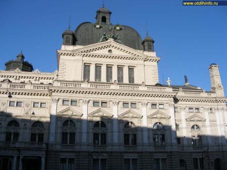 Фото: Оперный театр, Львовский государственный академический театр оперы и балета им. С. А. Крушельницкой