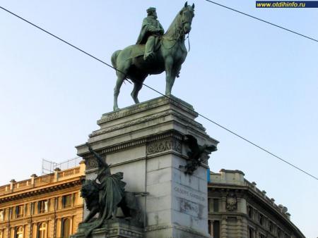 Фото: Памятник Джузеппе Гарибальди