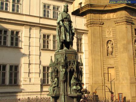 Фото: Памятник Карлу IV