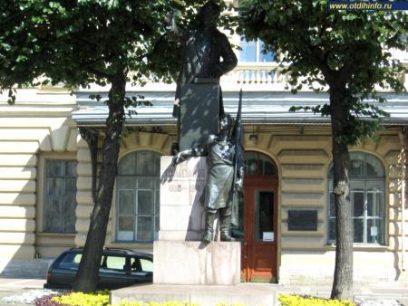 Фото: Памятник Г.В. Плеханову