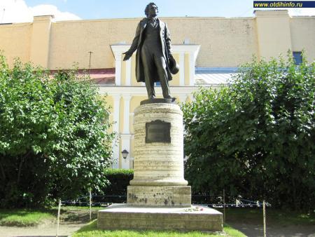 Фото: Памятник А. С. Пушкину на Мойке