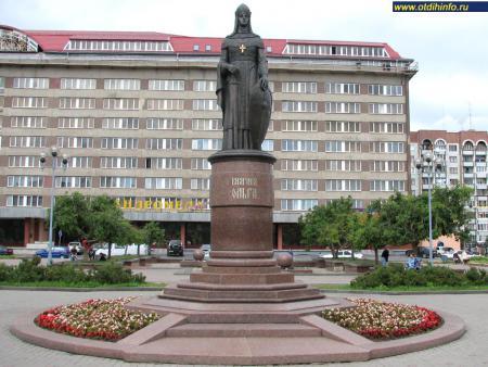 Фото: Памятник княгине Ольге