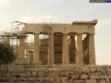 Фото: Афинский акрополь, Парфенон