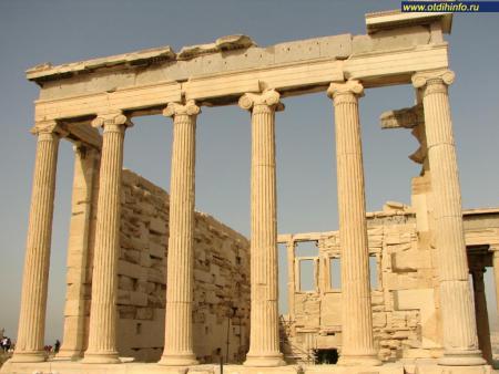 Фото: Афинский акрополь, Храм Эрехтейон, храм Эрехтея