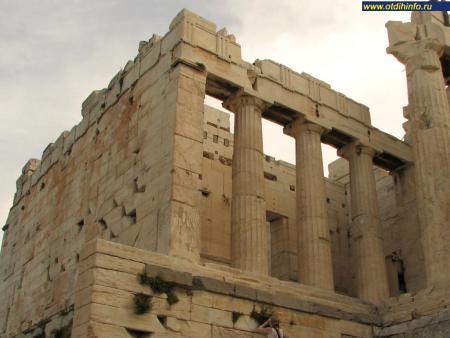 Фото: Афинский акрополь, Пропилеи