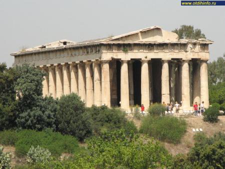 Фото: Храм Гефестион, храм Гефеста, храм Тесейон