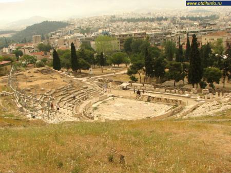 Фото: Афинский акрополь, Театр Диониса
