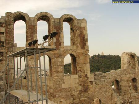 Фото: Афинский акрополь, Одеон Герода Аттика