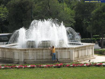Фото: Национальный сад, Королевский сад в Афинах