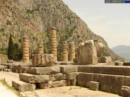Фото: Храм Аполлона Пифийского