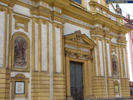 Фото: Монастырь Кармелитов босых, церковь Кармелитов босых