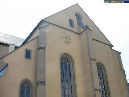 Фото: Церковь Святого Буркарда, монастырь Святого Буркарда